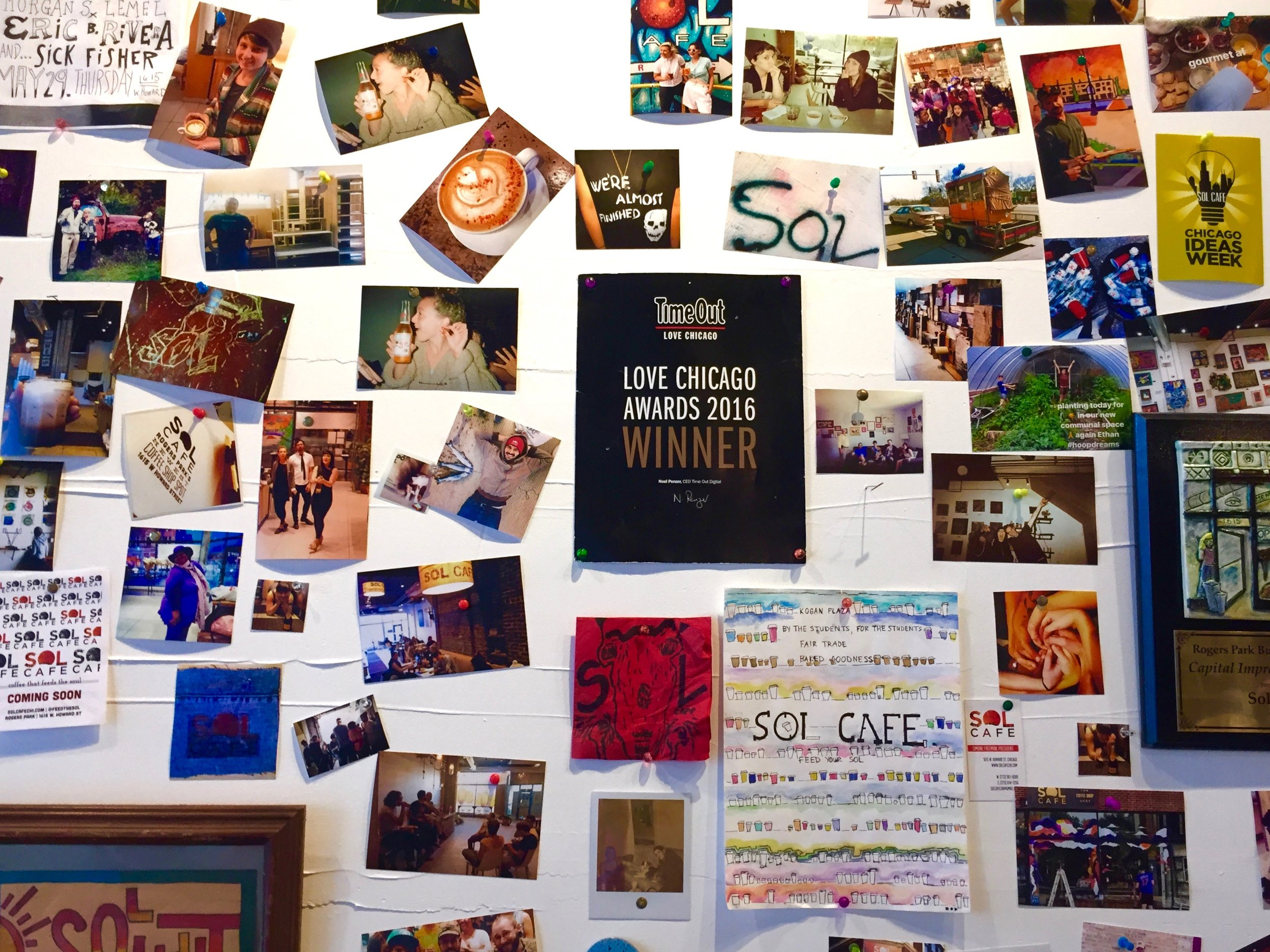 Sol Cafe women owned business
