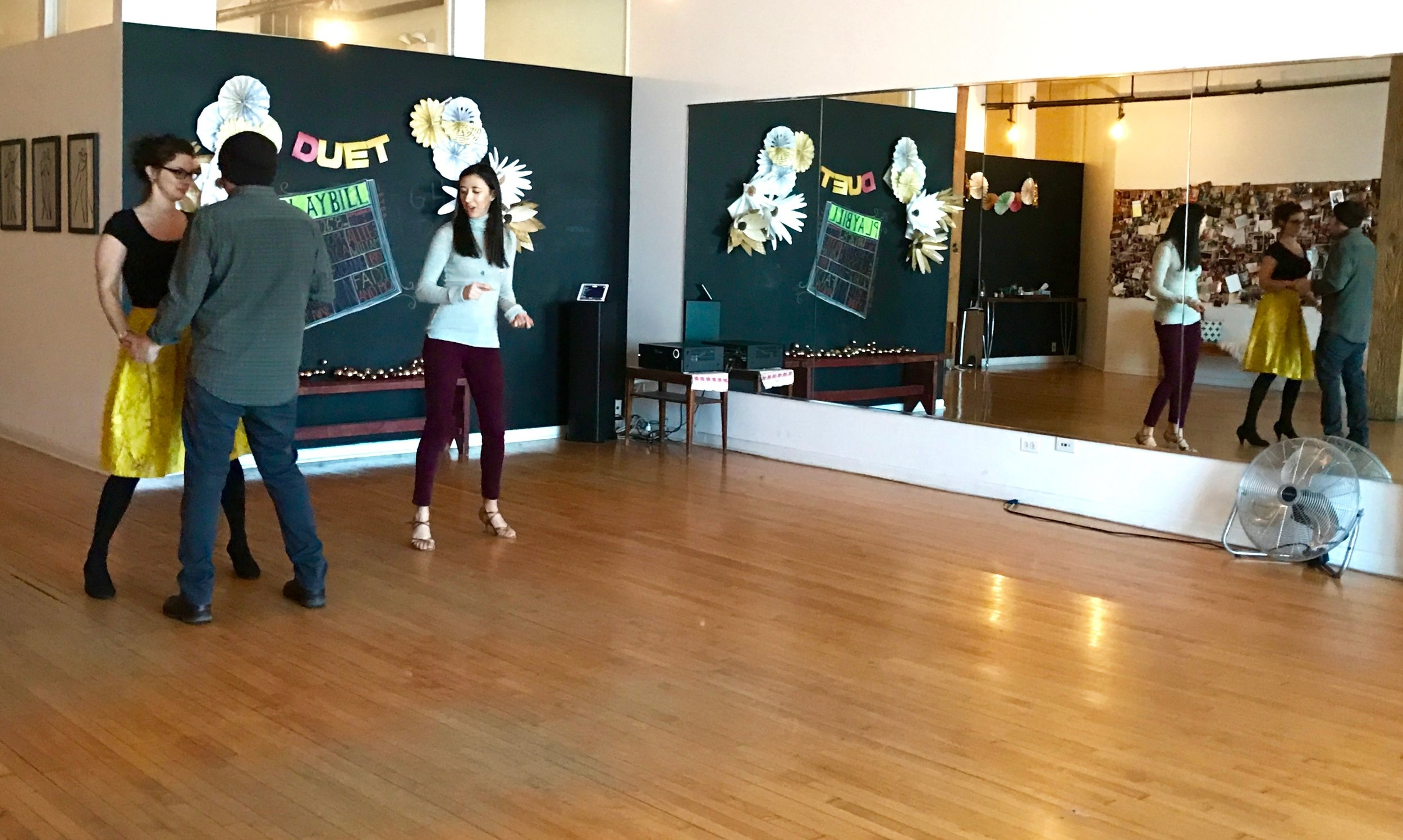Duet Dance studio women-owned business