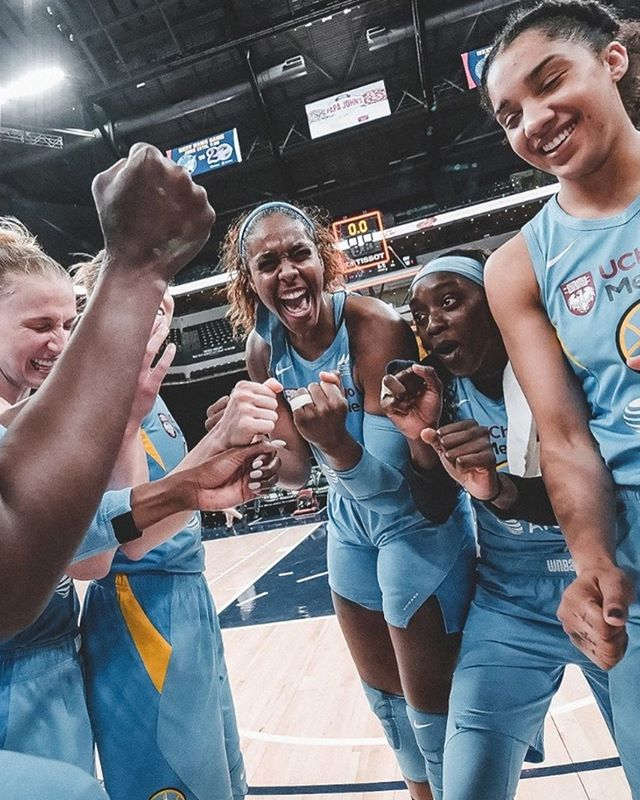 Title IX is 47 years old this week, and it was a game changer for women on so many levels, particularly in sports! Celebrate this week by grabbing tickets to an upcoming Chicago Sky game 👊 Link in bio for a list of Sky games and more on our calendar! 🏀💫