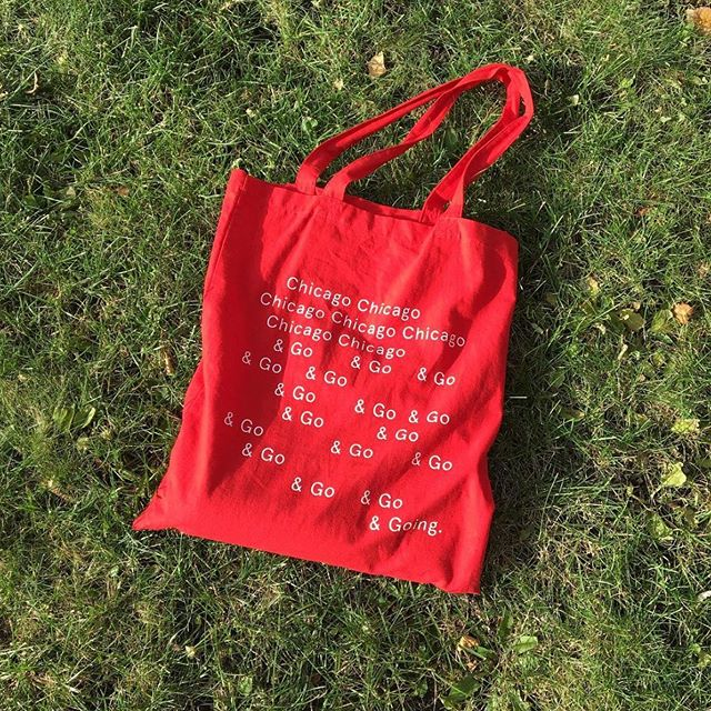 Hey Chica-go-go-go! Happy Monday 🤓 Shop this tote --  @theoutofofficestore #WomenOwned
