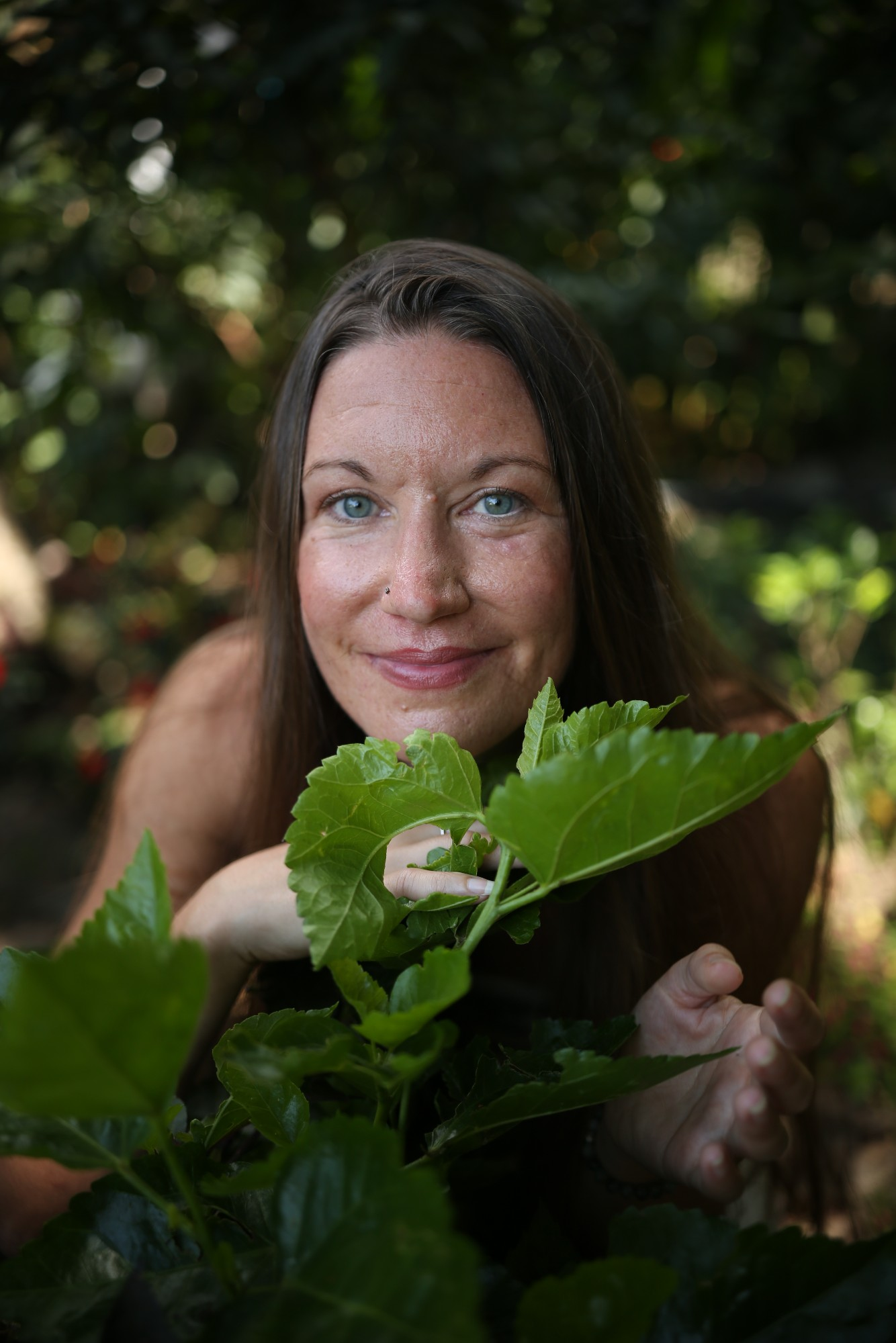 Kristine Vanderplas, lead facilitator of the Sacred Earth Yoga Teacher Training + Permaculture Immersion, a 200-hour Yoga Alliance certified ytt at Lake Atitlan, Guatemala this October 26 - November 23, 2019