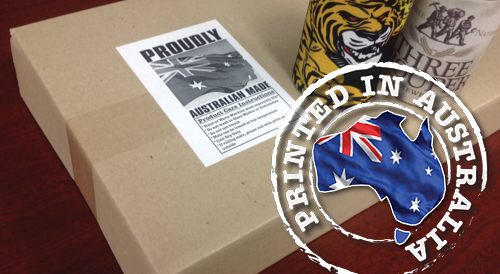 As all our printed products are locally produced in Australia, we can offer excellent turnaround at a great price.