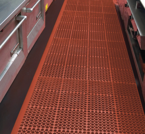 Breweries, Bars and Kitchens    Standout Mats  multipurpose, Anti-fatigue mats allow for superior comfort and safety. For use in wet, dry and greasy areas. Behind bars, long standing and shower areas.