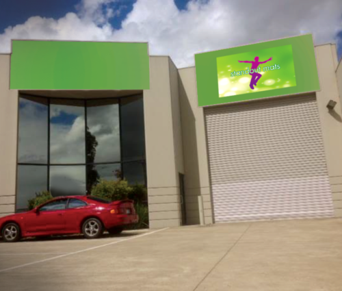 Standout Mats Factory Warehouse   You are most welcome to drop by our modern factory warehouse at 25 Carl Court. Just off the Princes Hwy and near the Monash Freeway in Hallam, Victoria.
