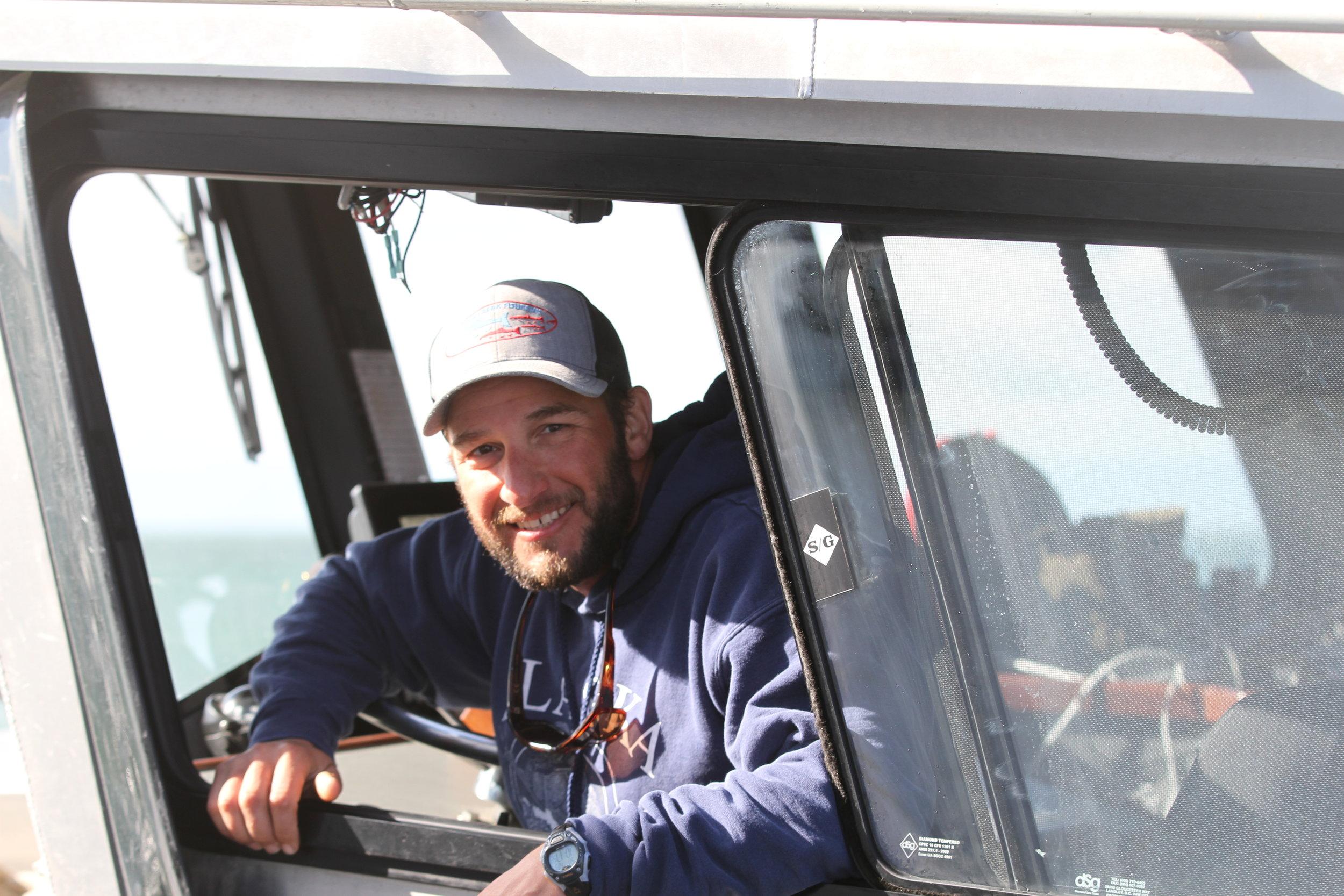 Steve in Boat.JPG