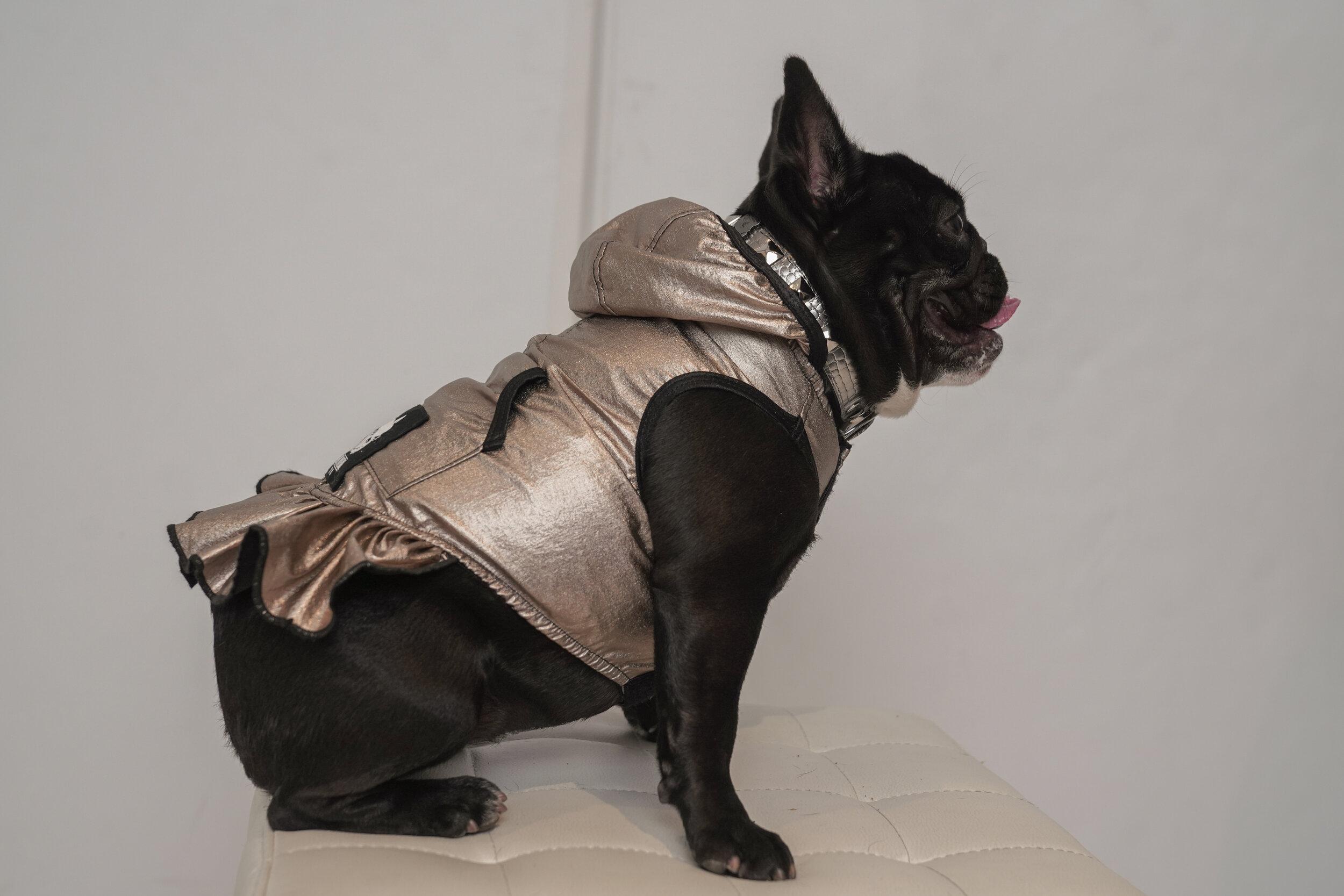 Millie Ruffle Hoody Jacket