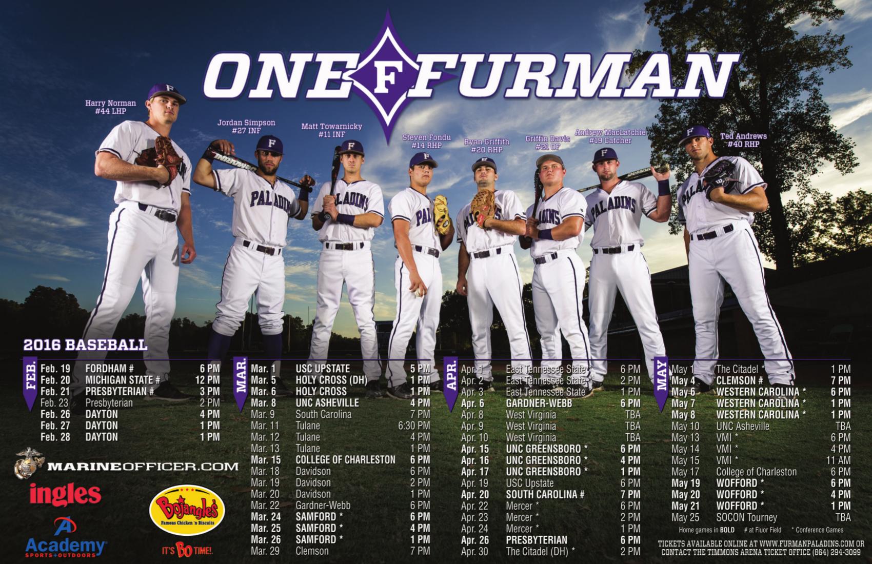 Furman Sport Poster