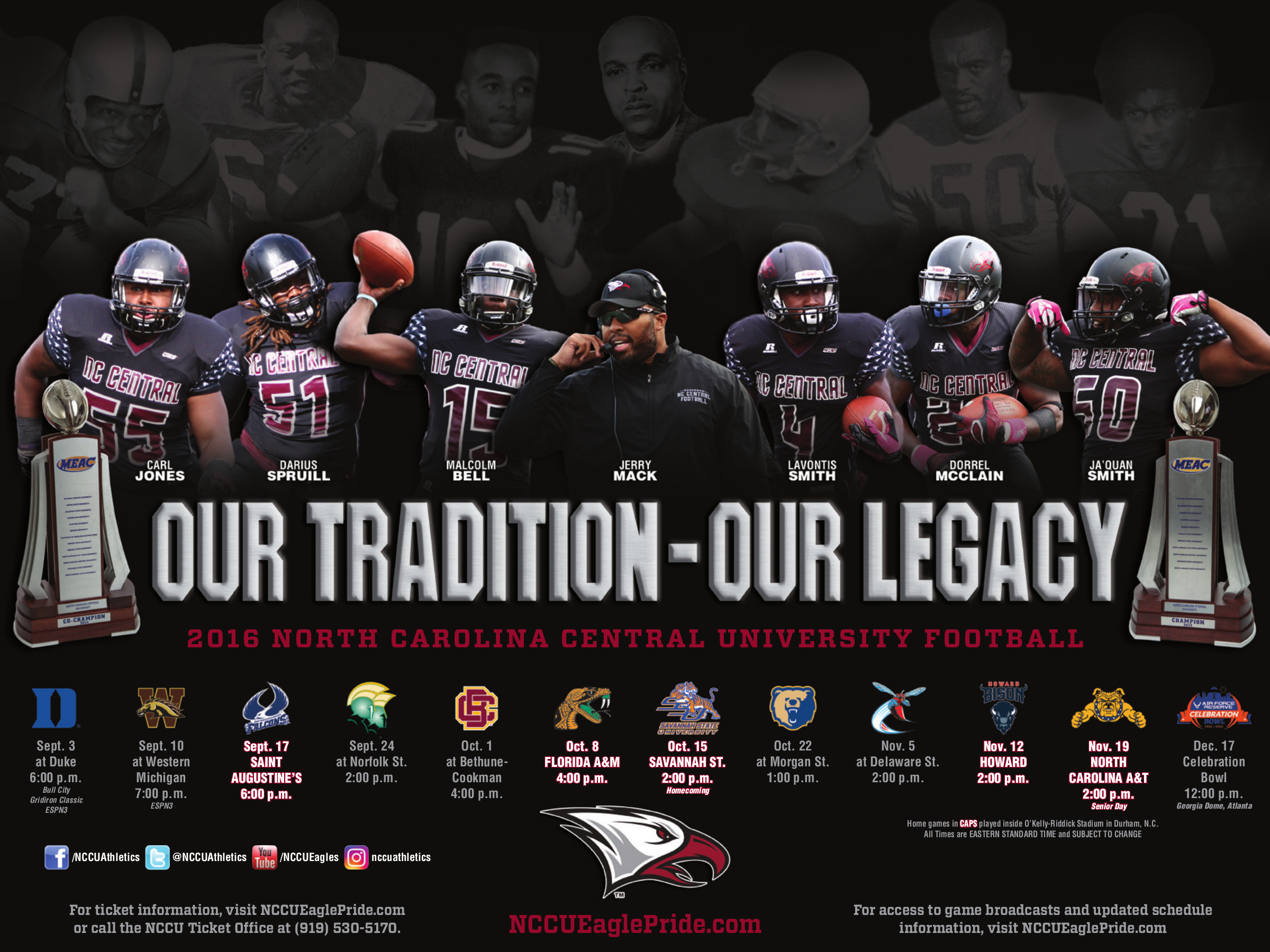 NCCU Sport Poster