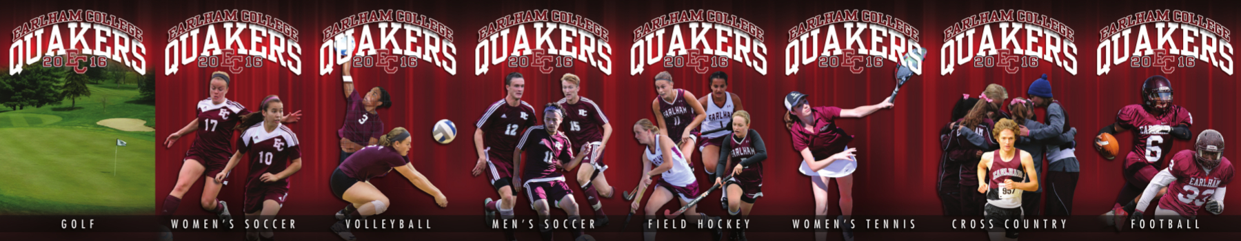 Earlham Sport Schedule Card