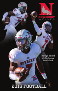 Newberry Sport Schedule Card