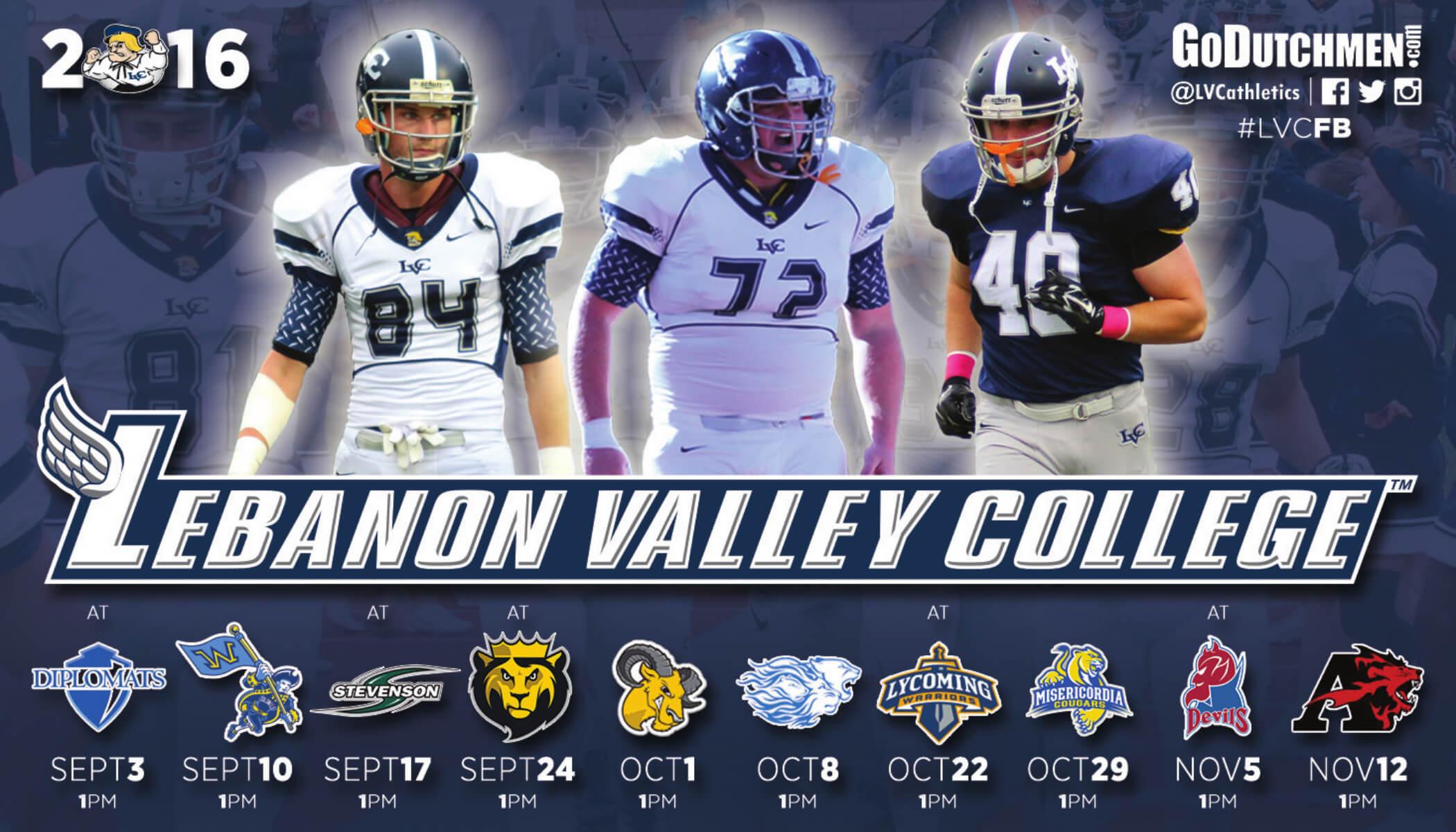 Lebanon Valley College Sport Magnet