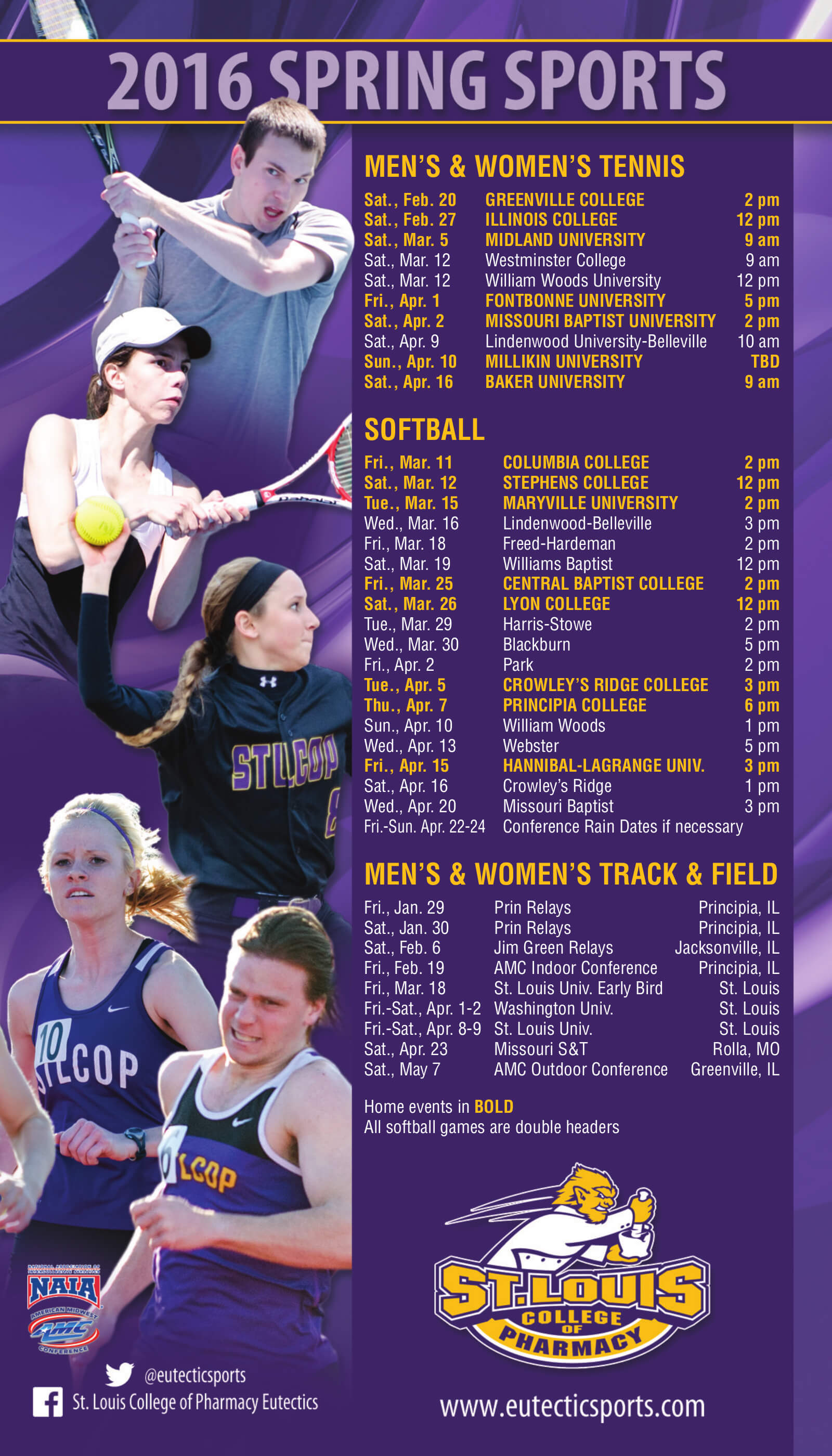 St. Louis College of Pharmacy Sport Magnet