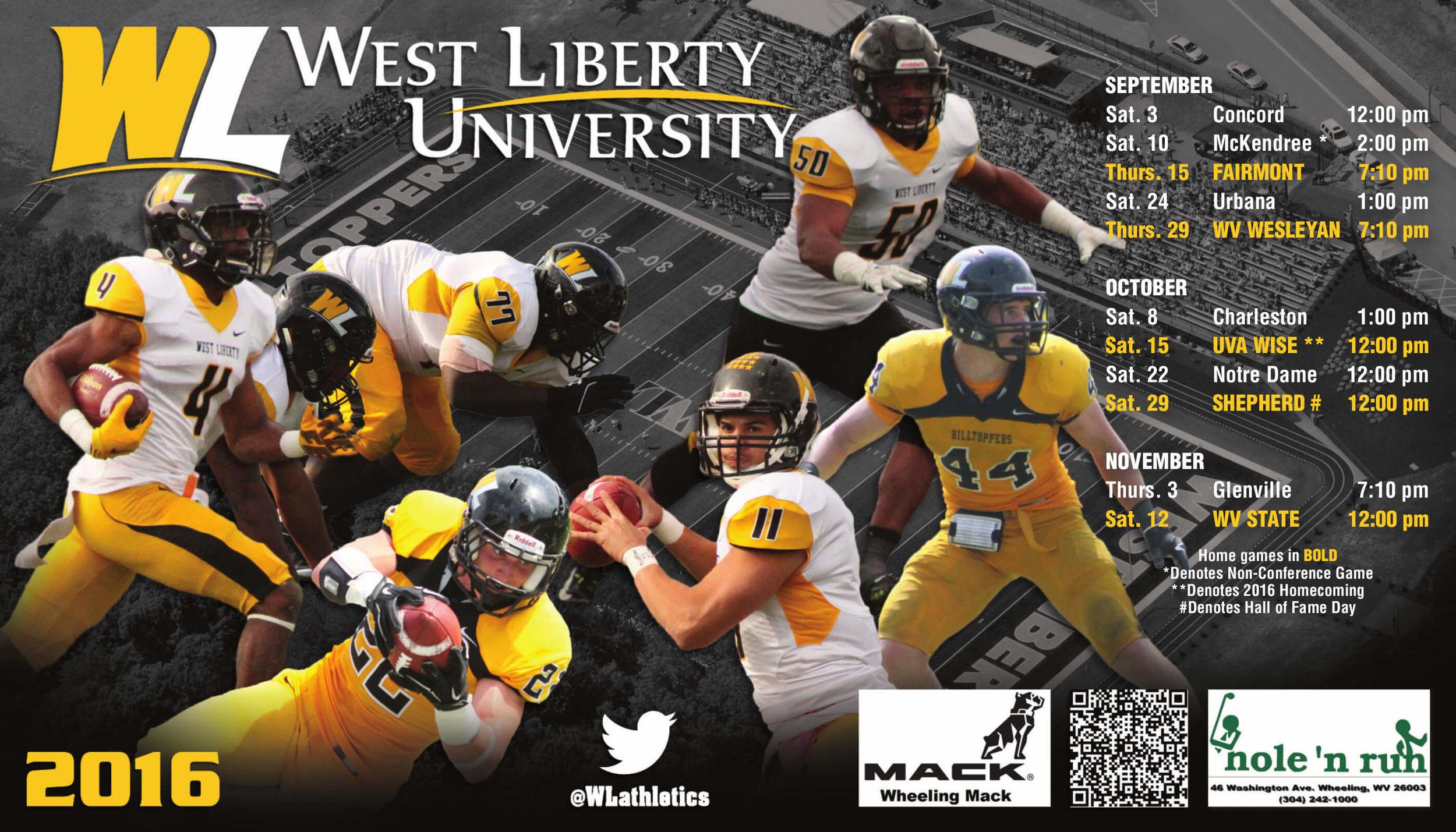 West Liberty University Sport Magnet