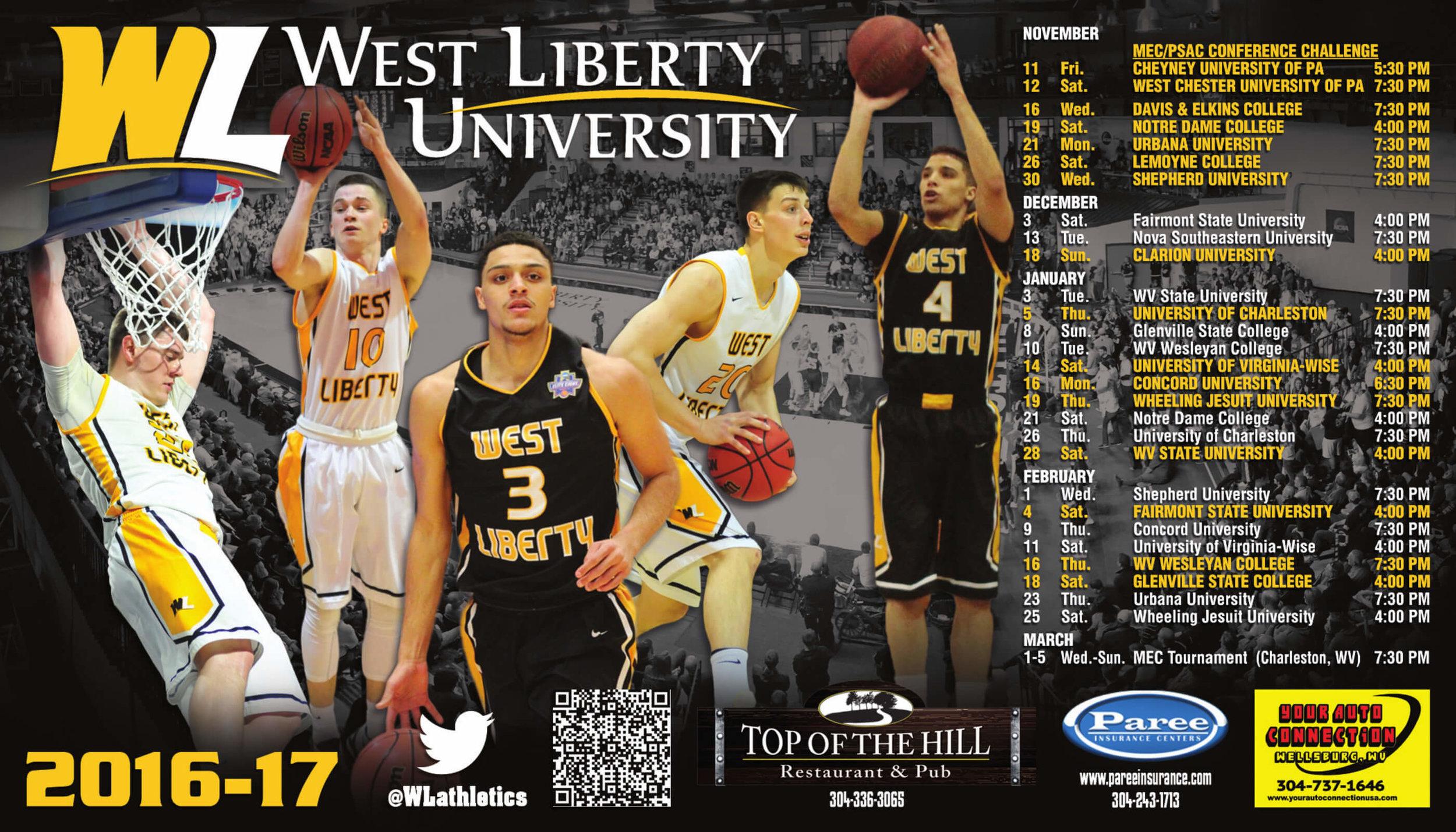 West Liberty Women's Basketball Sport Magnet