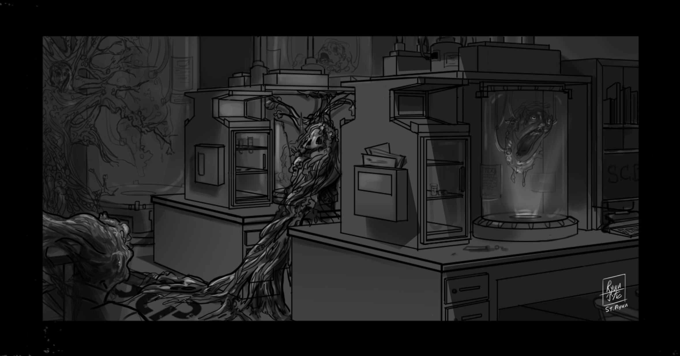 - Honorable Mention: SCP-610by ryuu