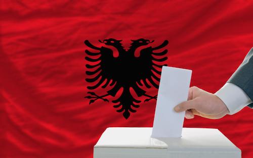 Albanian election image
