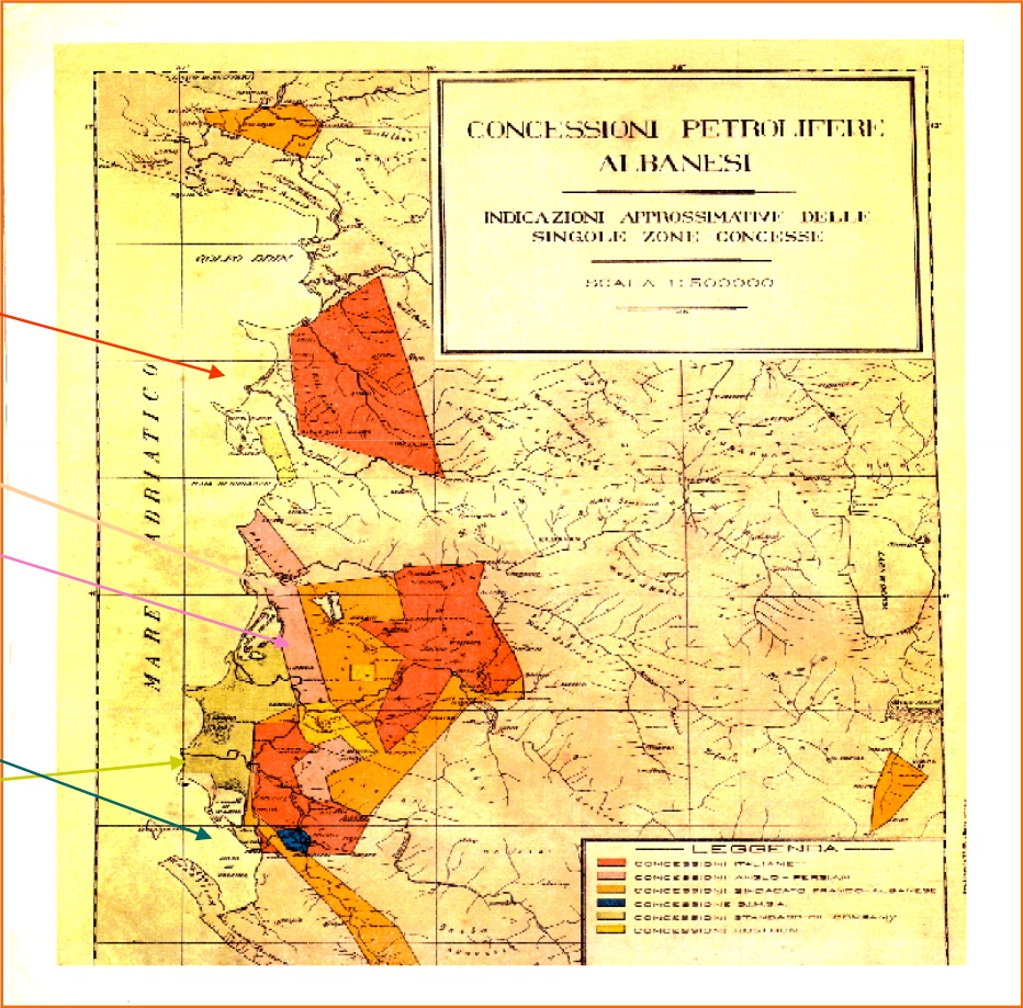 Albania government concessions from back in 1925. In recent weeks, Albpetrol has announced it is seeking concession agreements for three producing oilfields in the south of Albania.