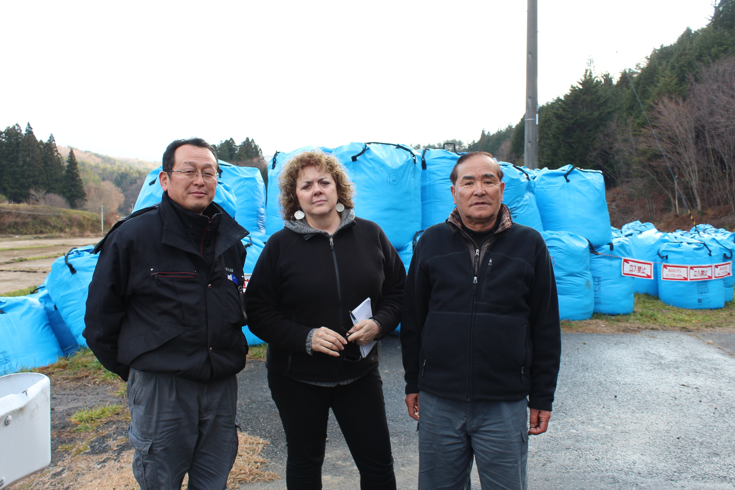 Bags of radioative waste awaiting some final, safe resting place.16.JPG