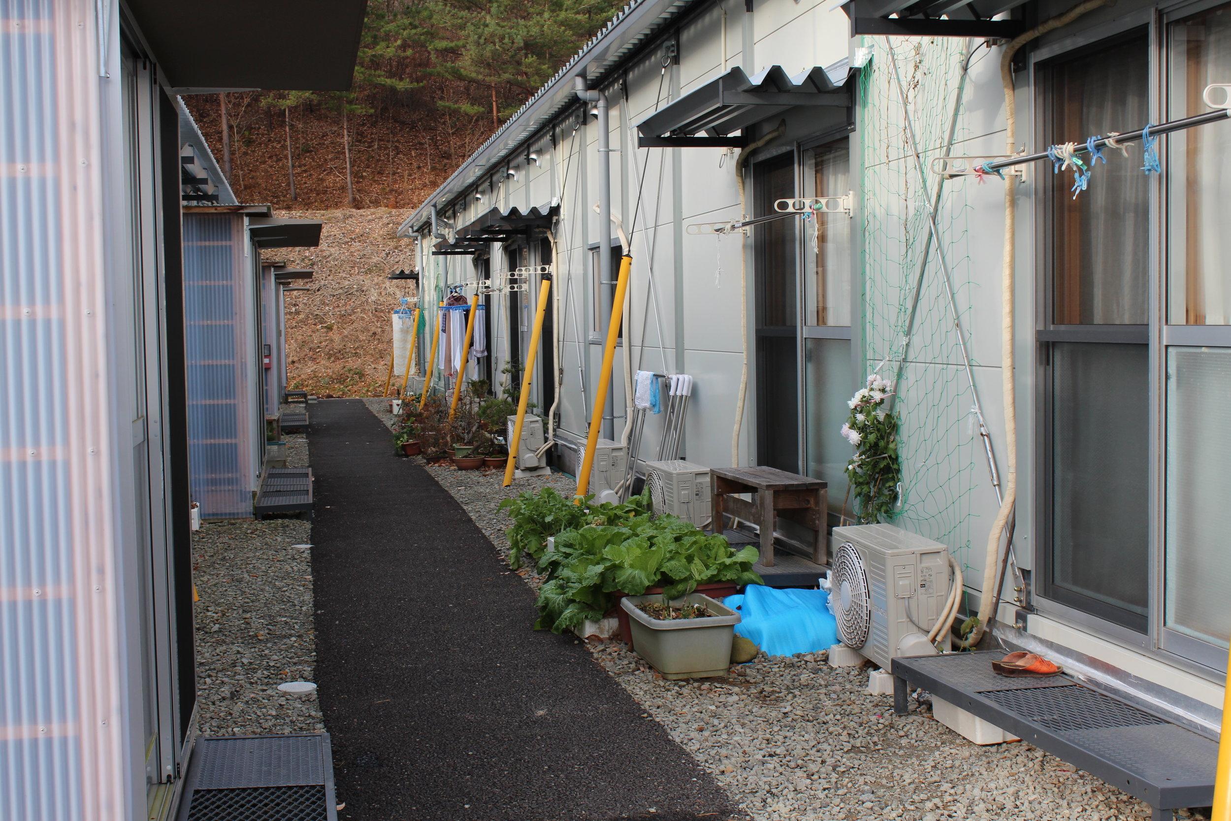 Resettlement housing for elderly former Fukushima residents, away from radiation.JPG