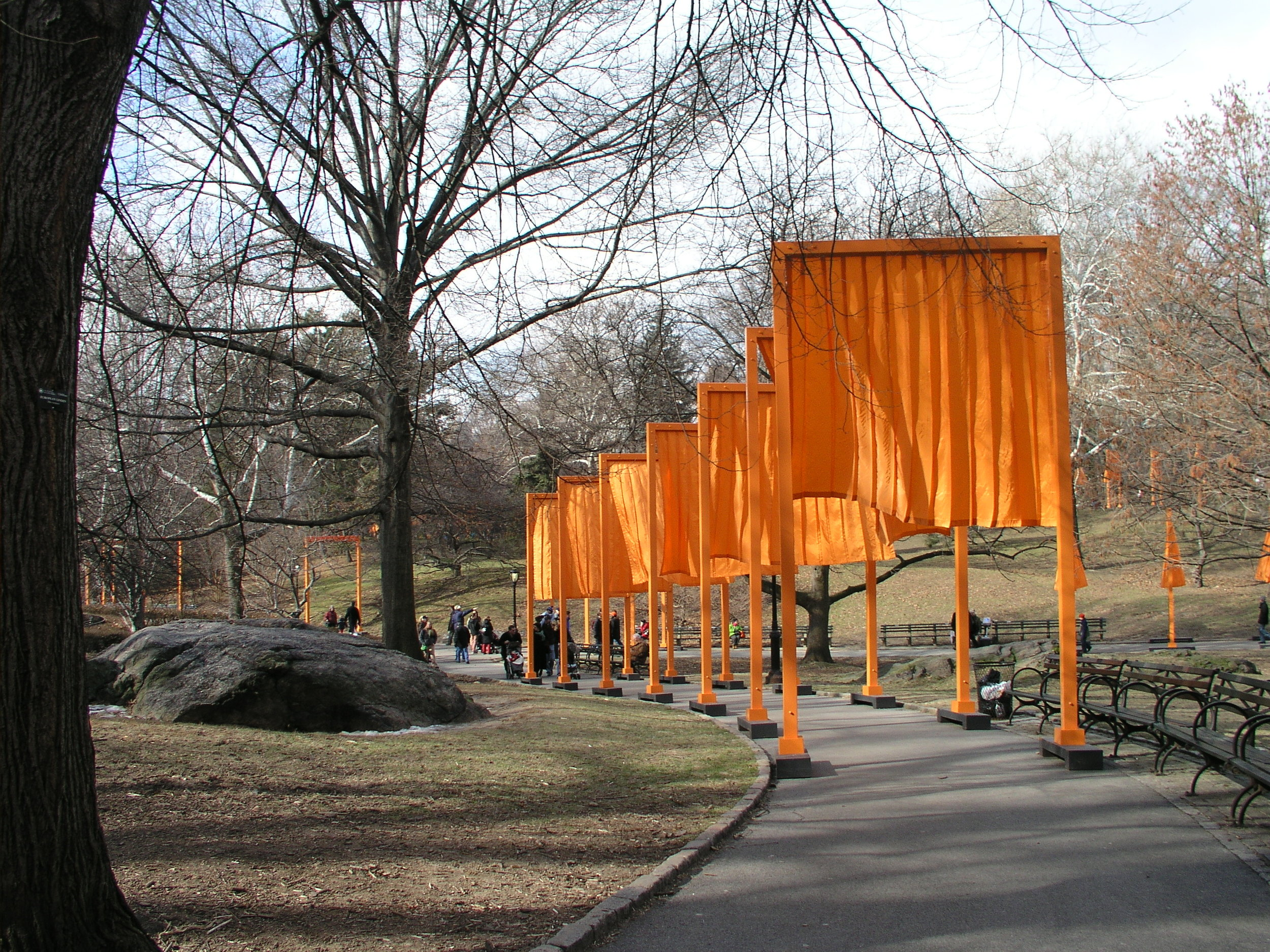 The Christo Gates 2005 in Central Park.4.JPG