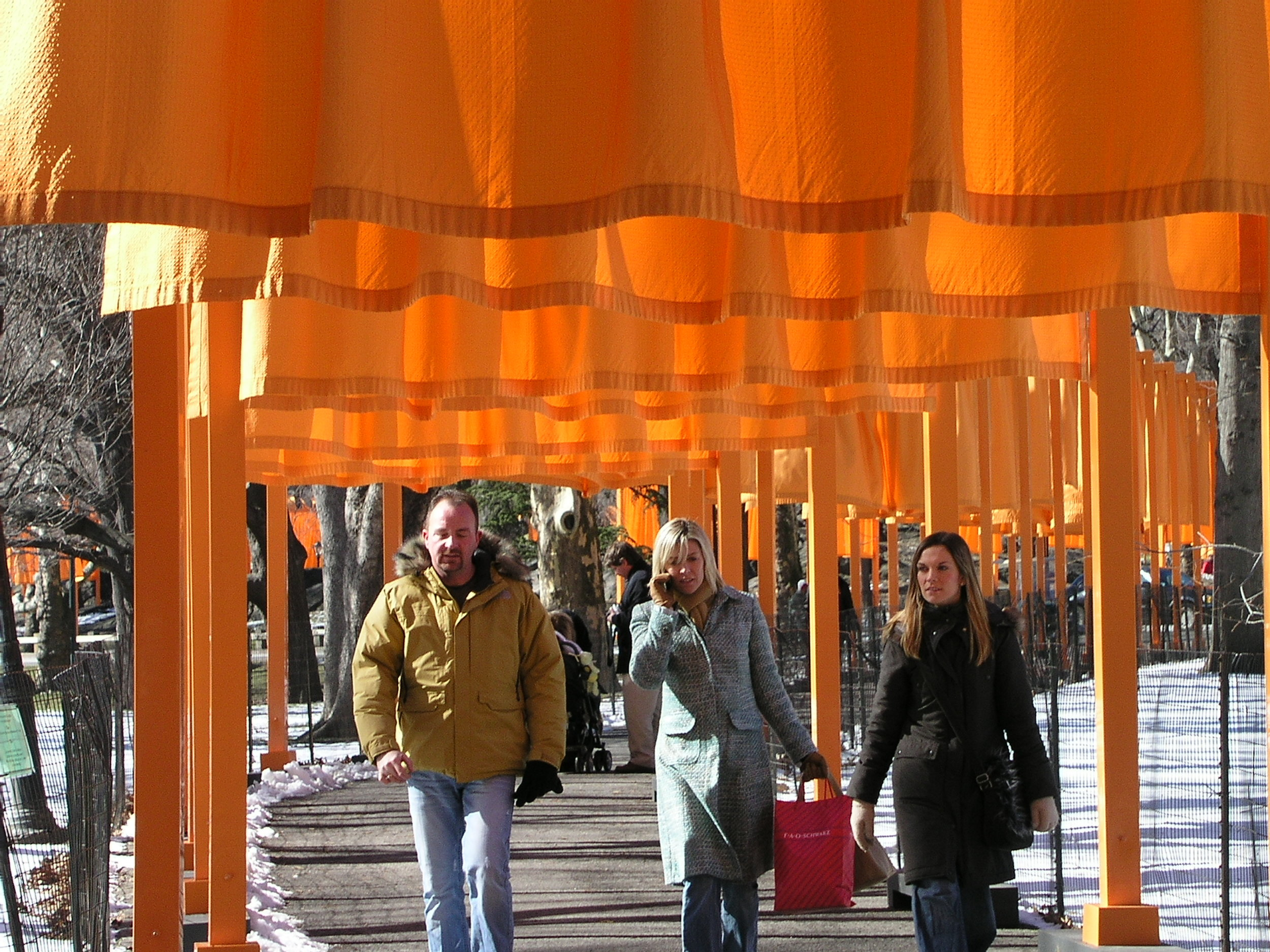 The Christo Gates 2005 in Central Park.6.JPG