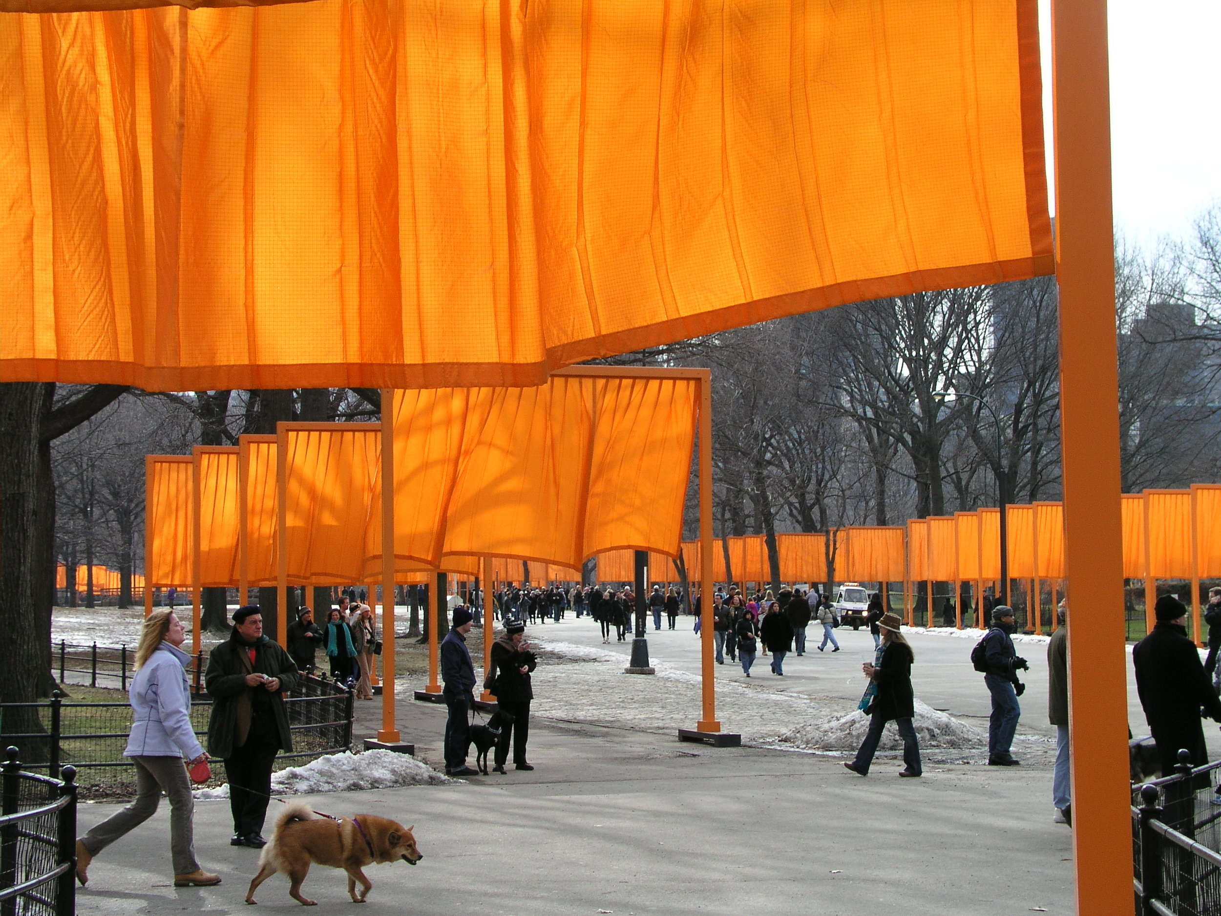 The Christo Gates 2005 in Central Park.8.JPG