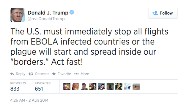 In 2014 Citizen Trump opposed allowing Ebola-infected health workers to come to USA.2.png