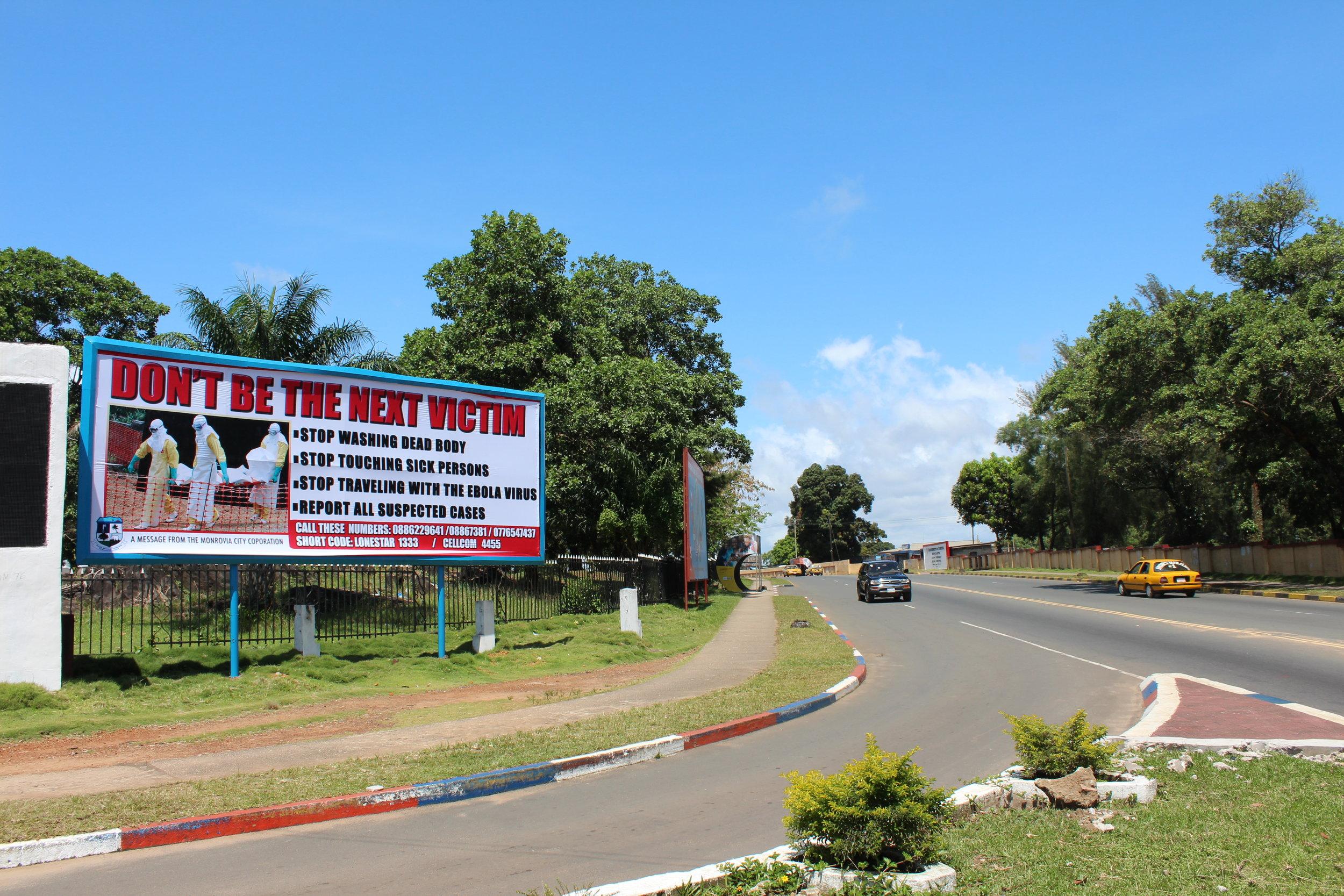 Ebola street sign.3.JPG