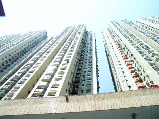 Nobody has ever really figured out why these Amoy Gardens Towers had different rates of SARS -- one was the highest in Hong Kong, the other quite low .jpg