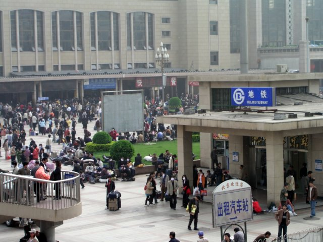 On April 20, 2003 the government admitted it had SARS in Beijing & over next 36 hours 250,000 people fled the city, taking the virus nationwide.1.jpg