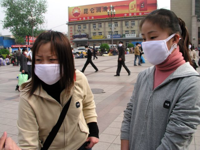 On April 20, 2003 the government admitted it had SARS in Beijing & over next 36 hours 250,000 people fled the city, taking the virus nationwide.3.jpg