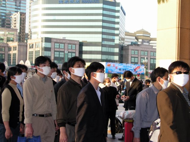 On April 20, 2003 the government admitted it had SARS in Beijing & over next 36 hours 250,000 people fled the city, taking the virus nationwide.8.jpg
