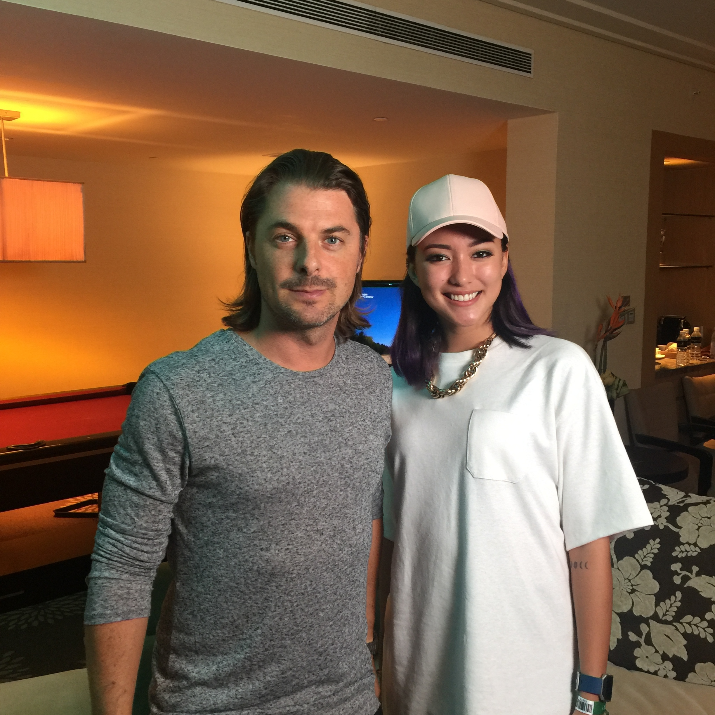 with Axwell