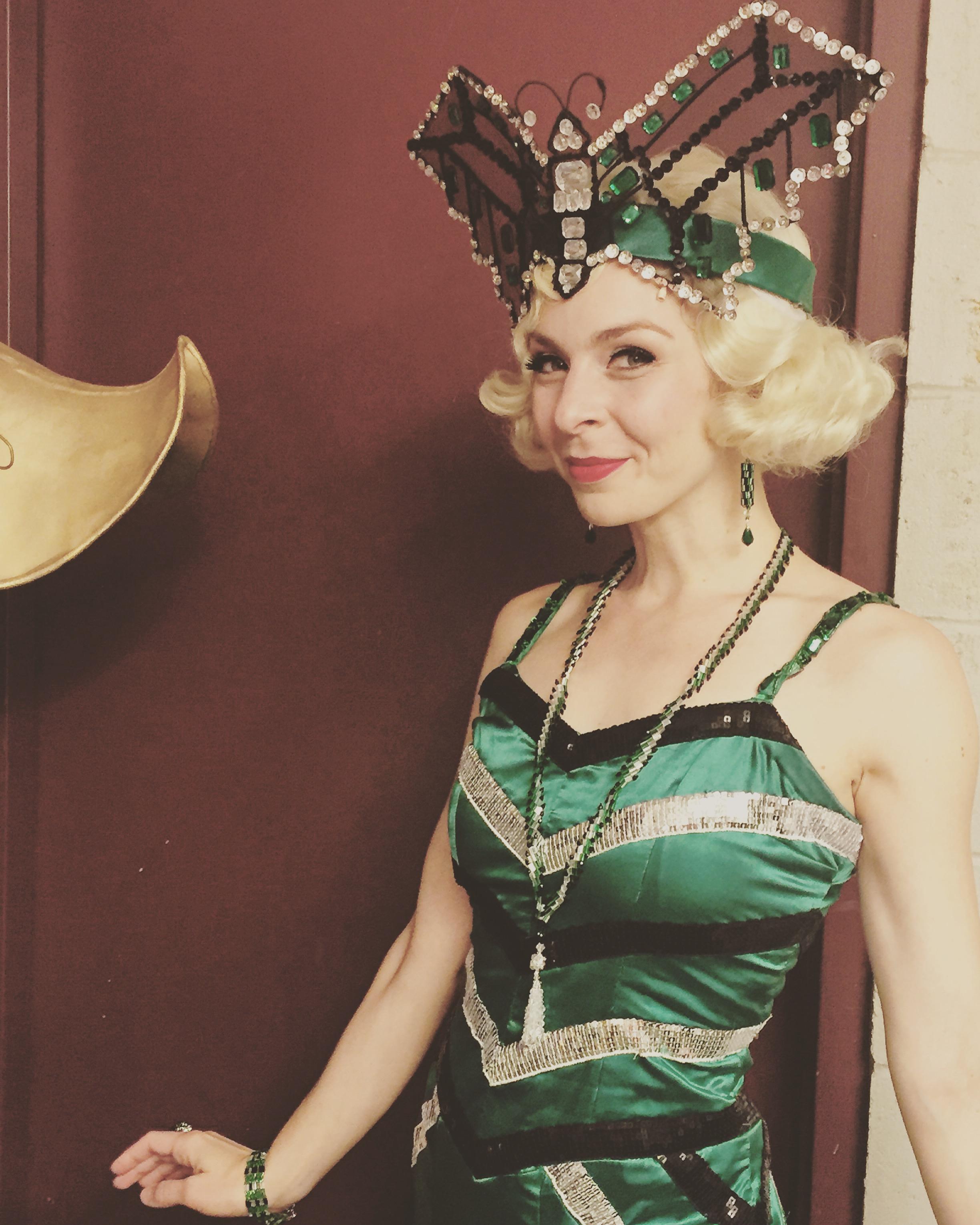 Gotta love a butterfly headdress.