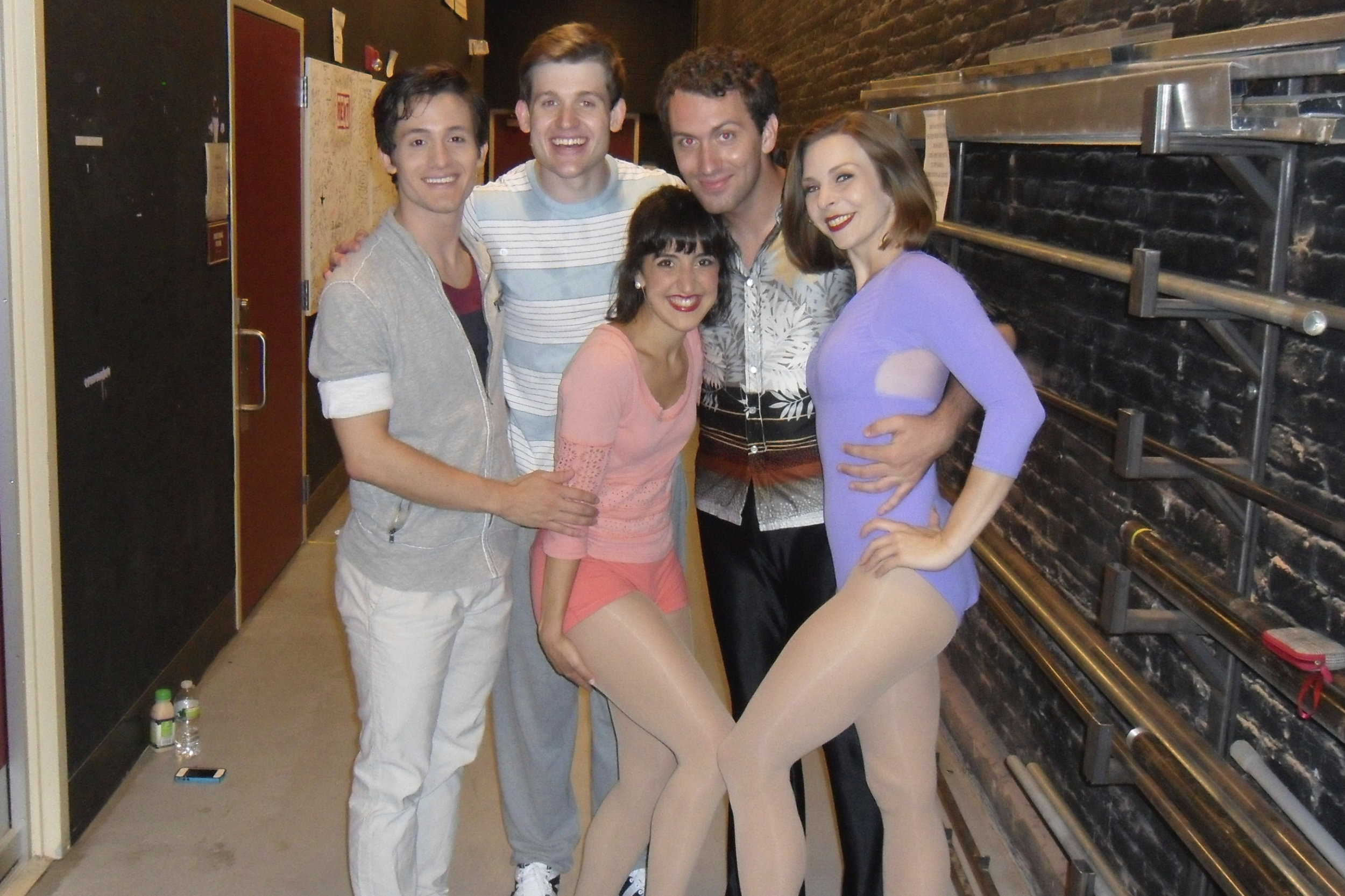 Epic talent in this cast! With Eddie Gutierrez (Paul), Giovanni Bonaventura (Mark), Andrew Hodge (Bobby), & Natalie Caruncho (Diana).