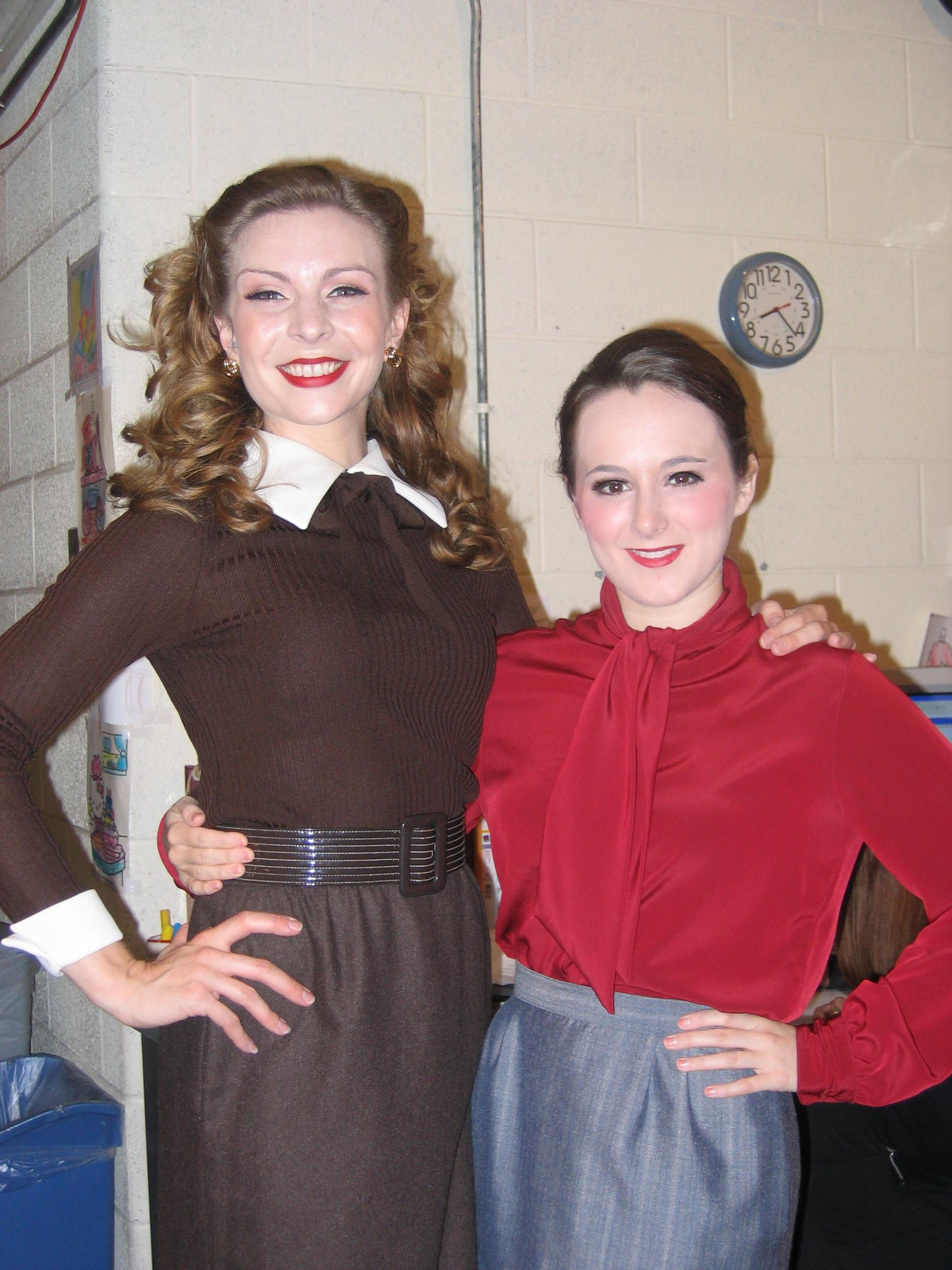 Secretary chic, with Lauren Patterson.