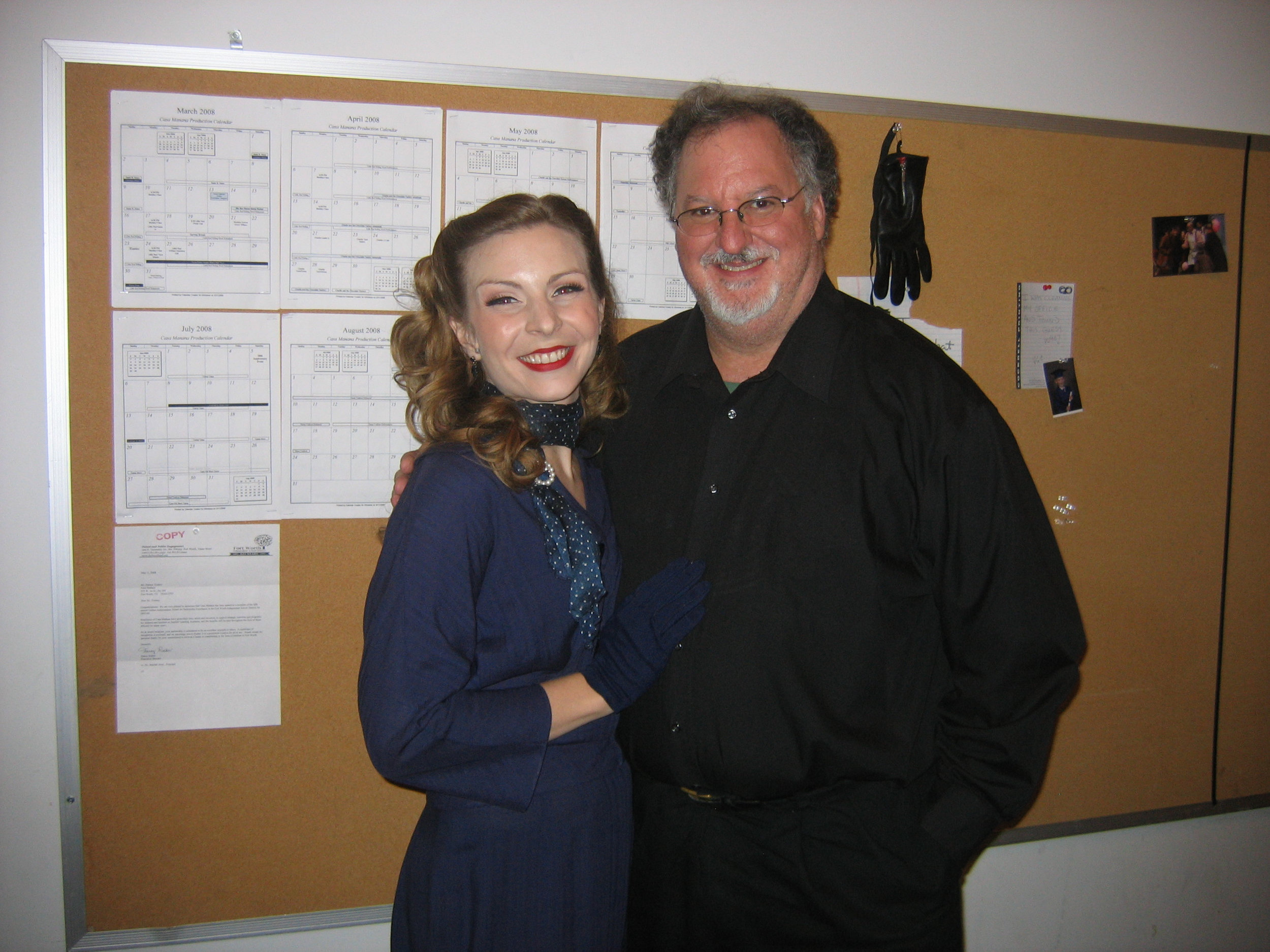 Our musical director, Eugene Gwozdz.