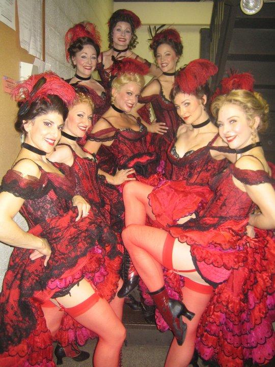 Saloon ladies.
