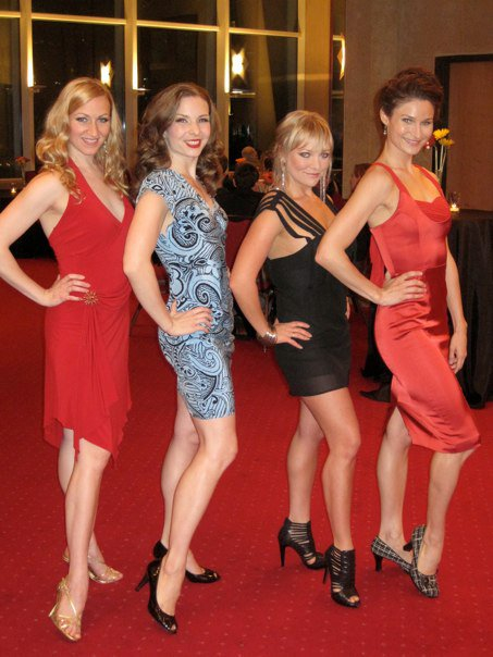 The four of us did Pippin together. How amazing to be together again!