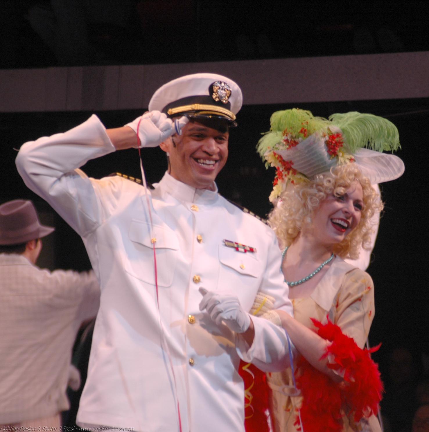 """""""Bon Voyage,"""" with Chris White as the Captain."""