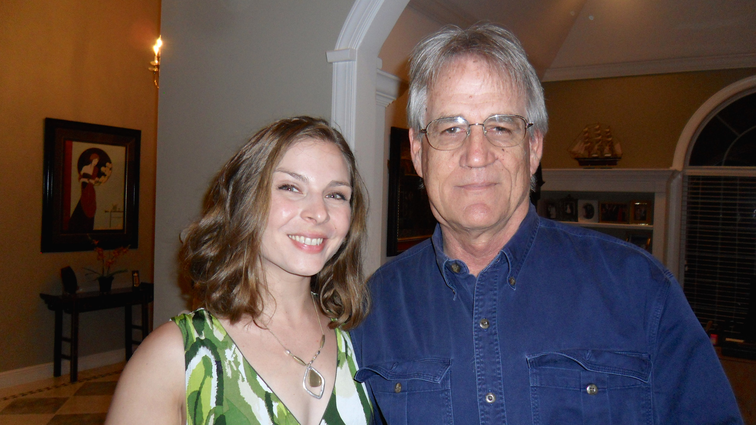 With our director, Allen Cornell.
