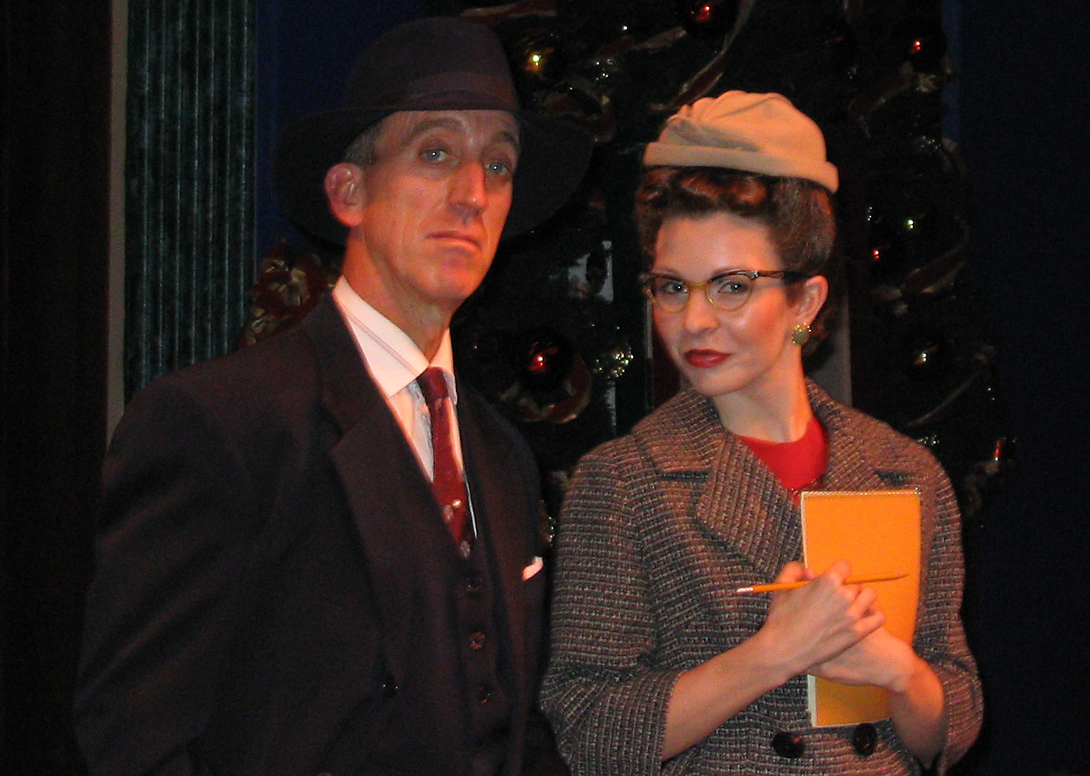 Miracle on 34th Street at Westchester Broadway Theatre.