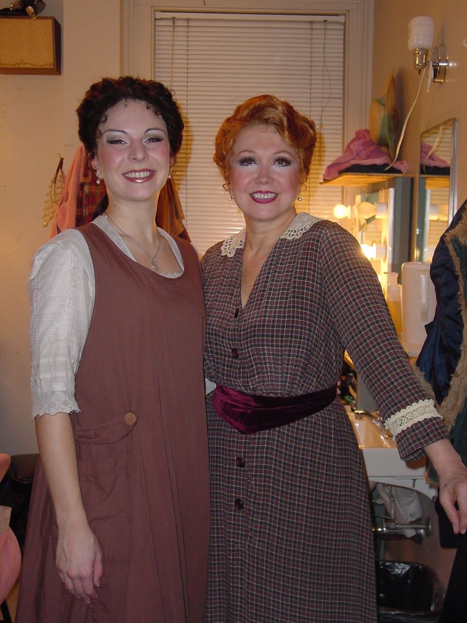 On as Mabel! With the legendary Donna McKechnie.