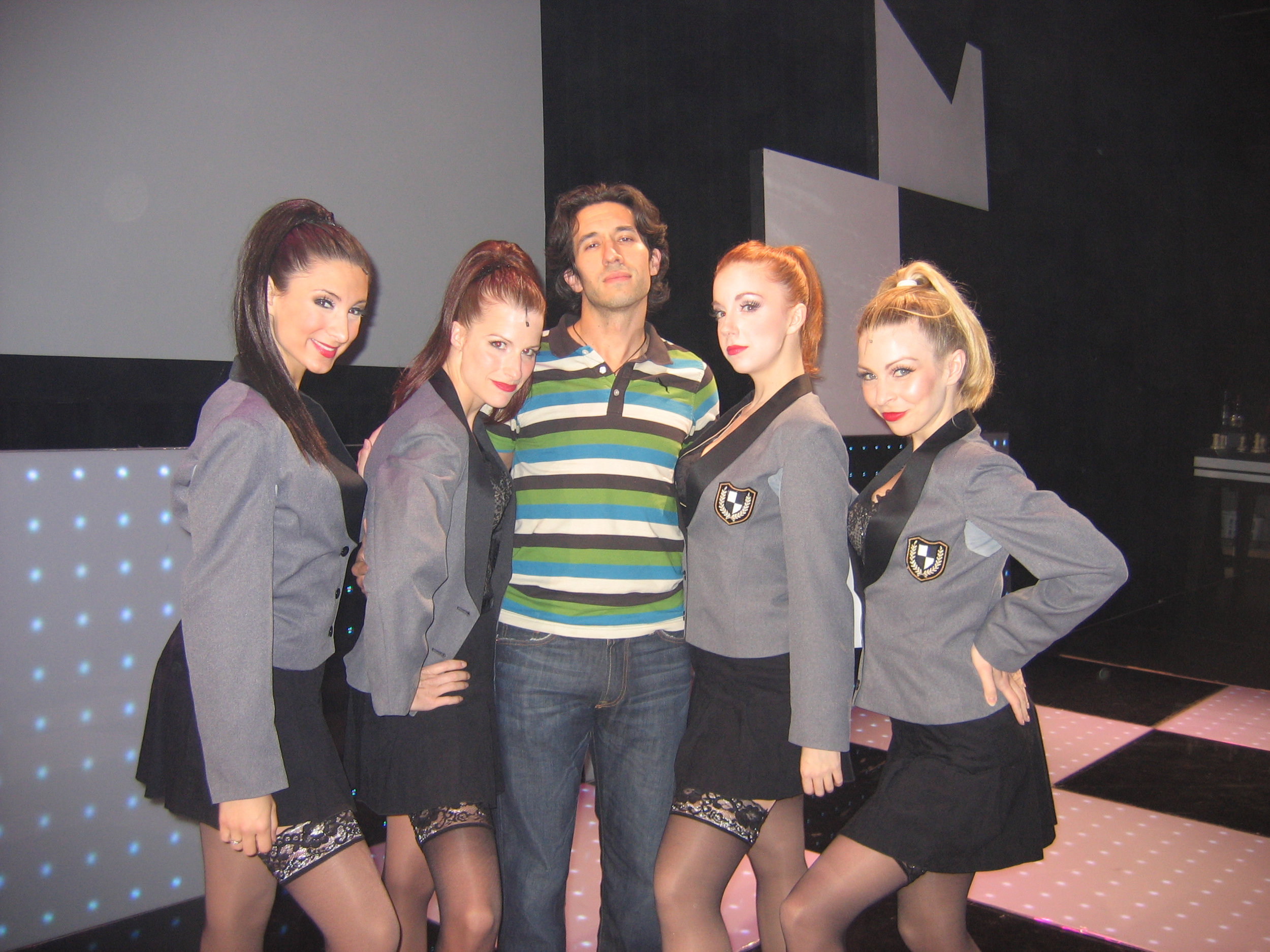 With our awesome Chess choreographer, Josh Rhodes.