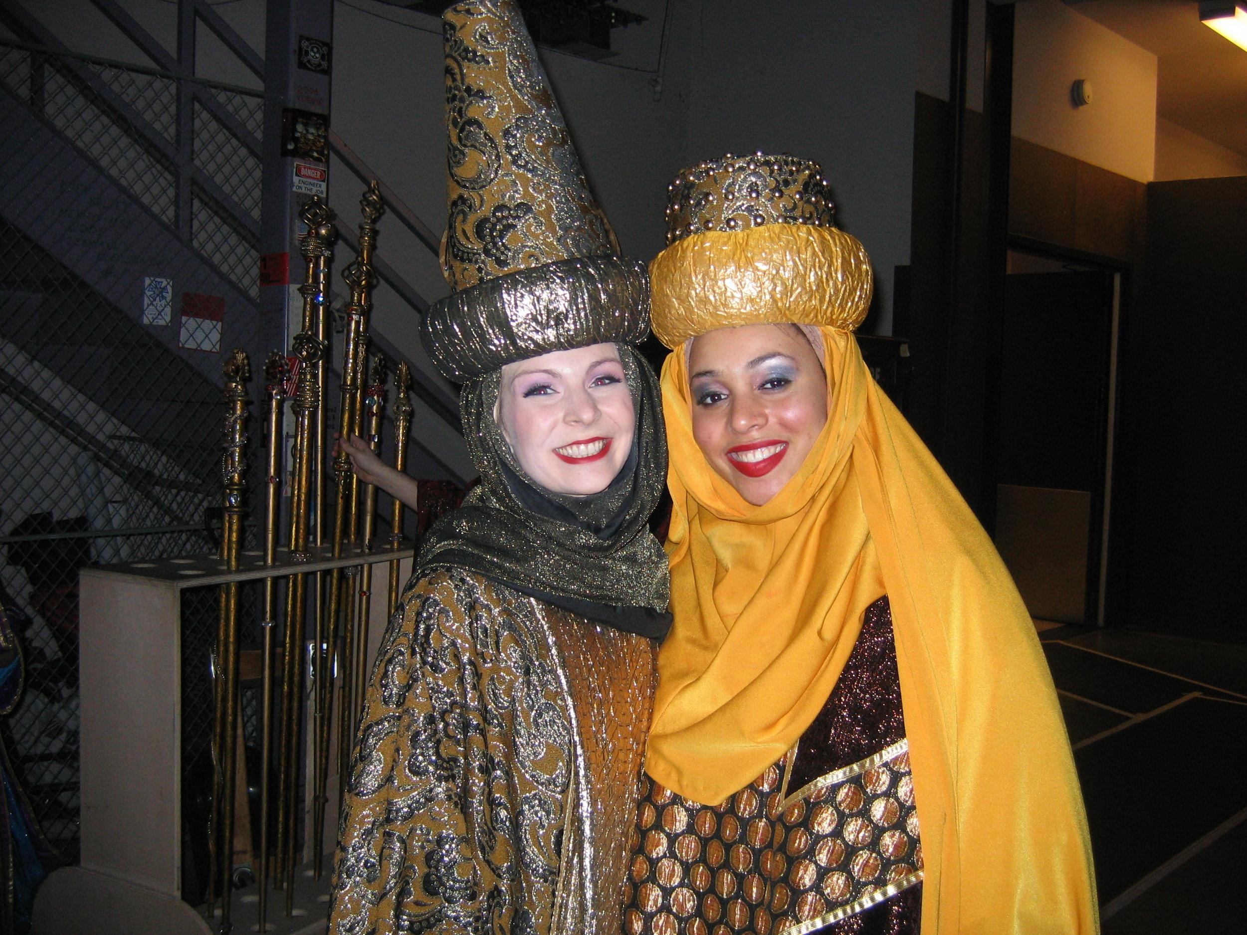 Gold Court of the Nativity, with Kia Lee.