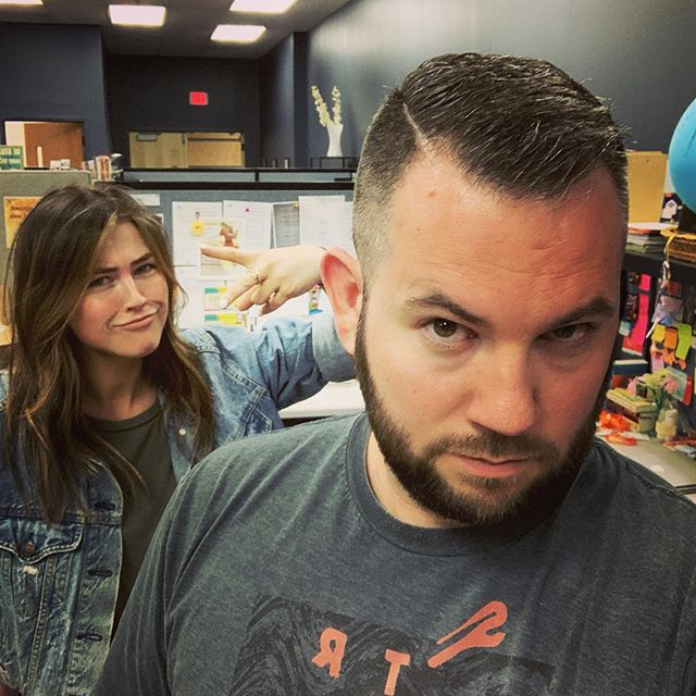 New hair, who dis? Student ministry dept reppin' some fresh fades! #NewHairNewMe #Faded