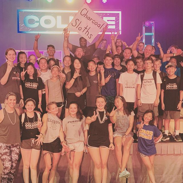 Collide 2019 is in the books and we had tons of FUN! Slow and steady (almost) wins the race as the Charcoal Sloths went from 8th (last) place to 2nd place! 🥈
