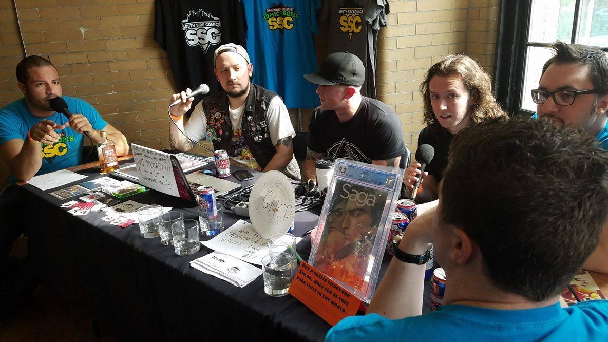 Photo: Brian Wissner - Taken from  Episode 126: Live at the Pittsburgh Retro Gaming Con w/ Grownup Human Comic People