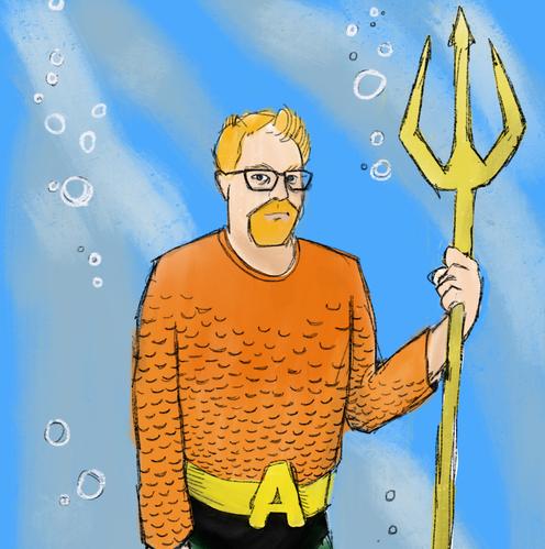 As Aquaman