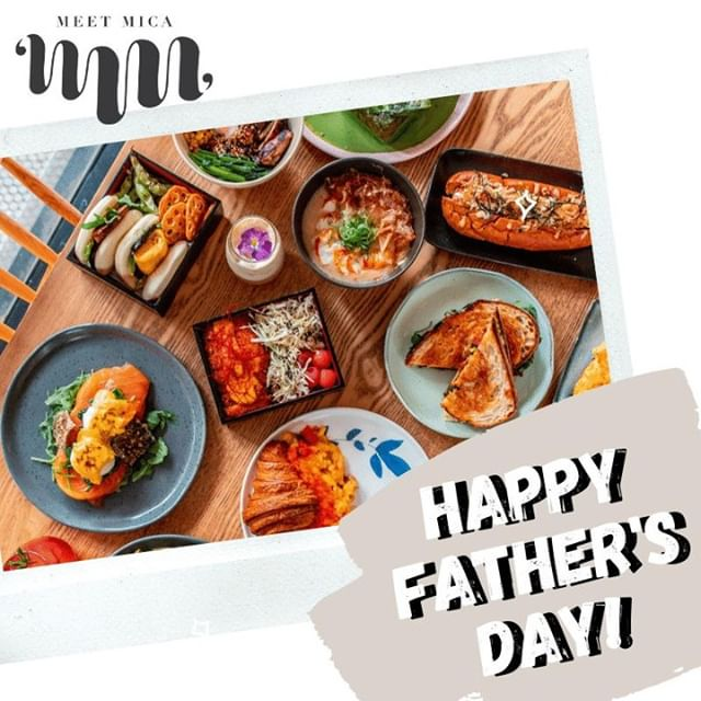 Happy Father's Day ❤️ Make sure to spoil your Dads and what better way to do that than with food, especially if it's a spread at Meet Mica 😋 Pop in today and show your Dads some love! . . . #meetmica #meetmicasydney #SydneyLocal #sydney #breakfast #pancakes #brekkie #breakfastlover #breakfastclub #breakfasttime #foodporn #foodie #foodforlife #foodaddict #brunch #brunchtime #brunchinsydney #breakfasts #avotoast #cafes #sydney #lifestyle #eating #foodiegram #foodie #foodstagram